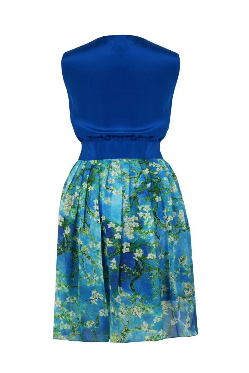 Robe-turquoise-dos