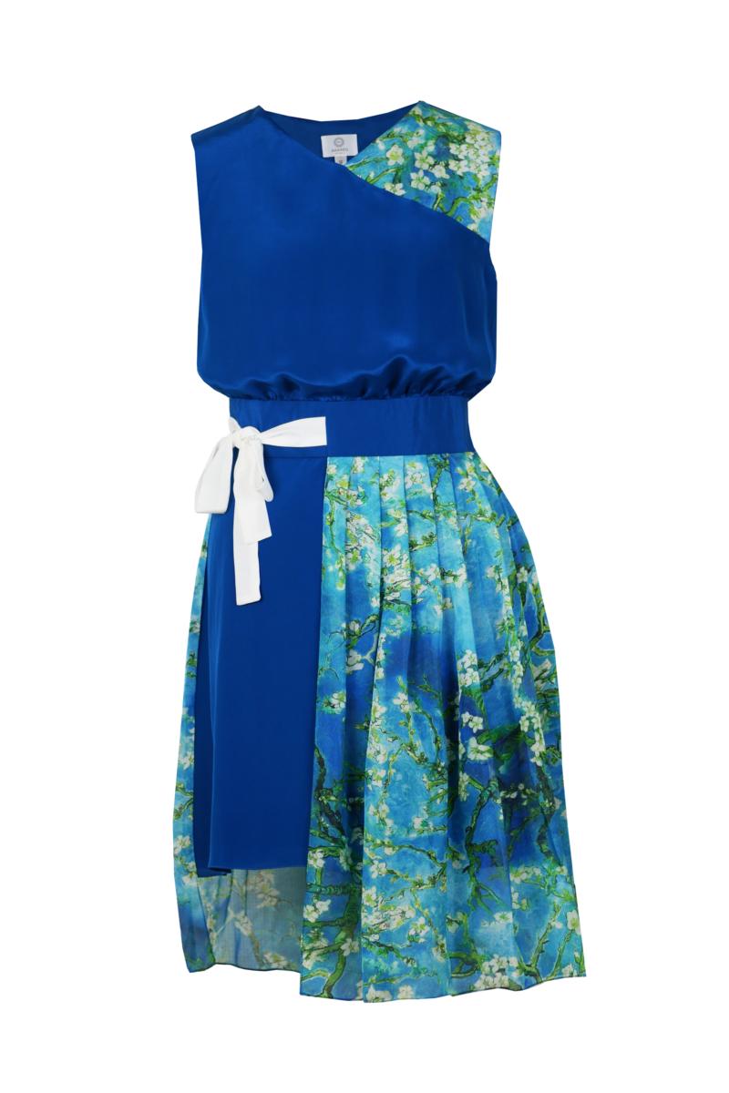 Robe-turquoise-dvt
